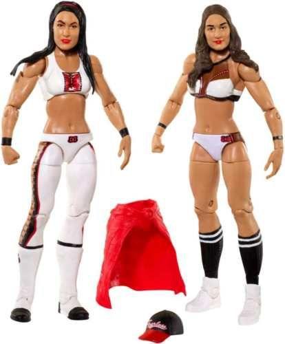 NIKKI-BRIE-the-BELLA-TWINS-WWE-Battle-Pack-Series-43-Total-Divas-Bella-039-s-Diva