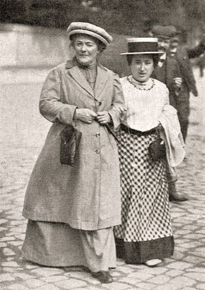Clara Zetkin und Rosa Luxemburg