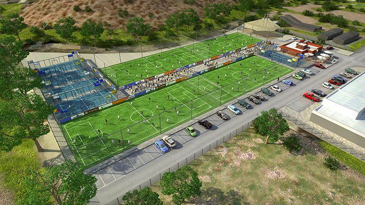 Nuevo centro deportivo se instala en Chicureo
