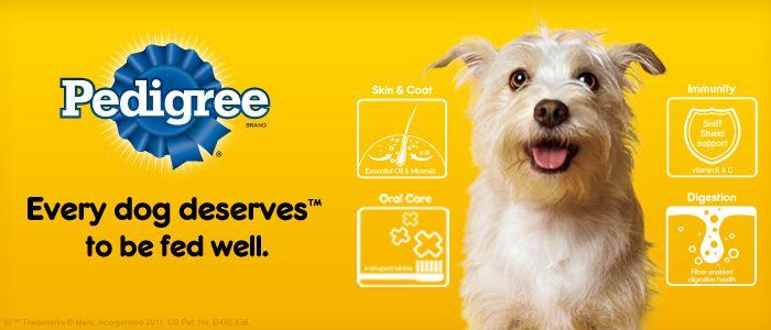 Pedigree Dog Food Discount Coupons