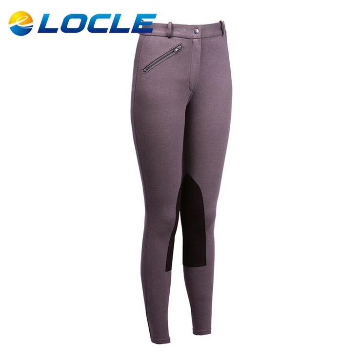 LOCLE Kadınlar Binicilik At Binme Külot Kadın Binicilik Pantolon Binicilik Chaps