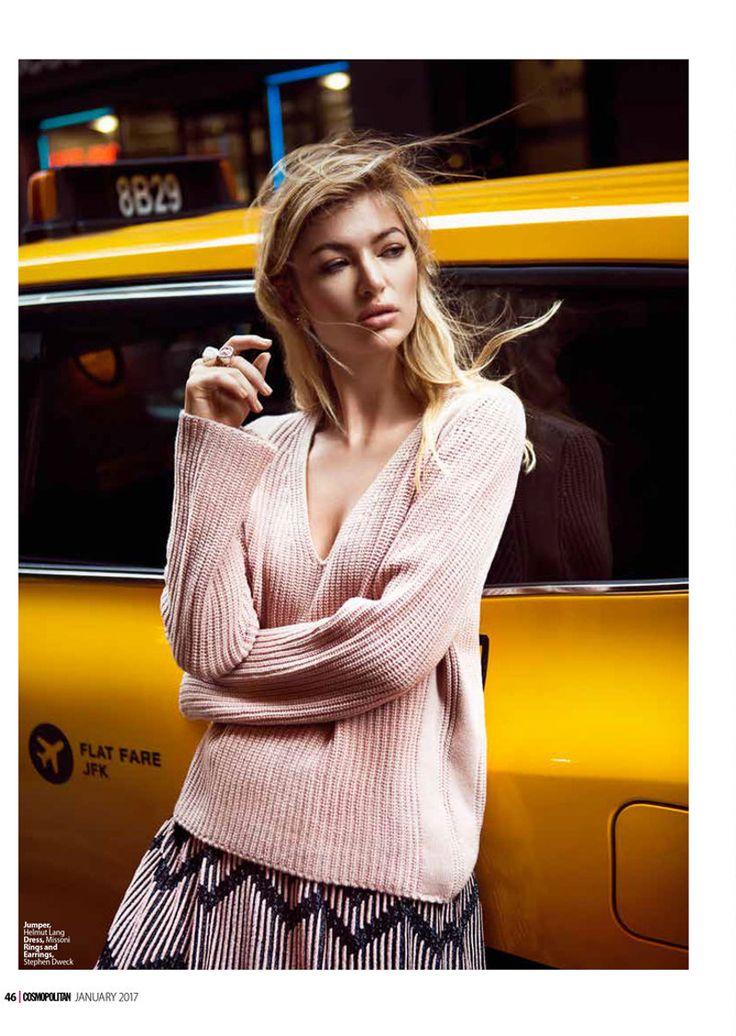 Cosmopolitan Middle East January 2017 Allie Fosheim by Carla Guler - Fashion Editorials