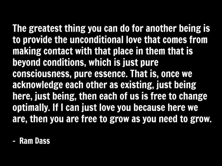 ram dass quote spirituality love