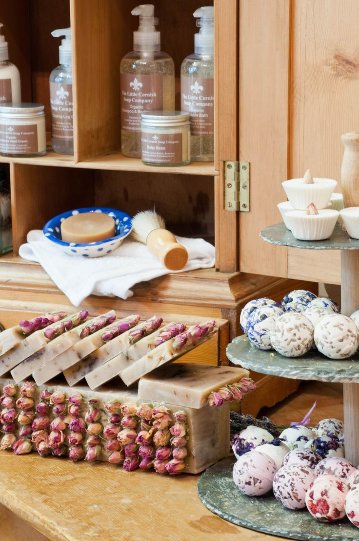 Rustic Soap Display From The Little Cornish Soap Company