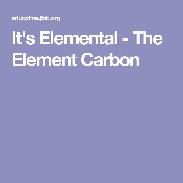 It's Elemental - The Element Carbon