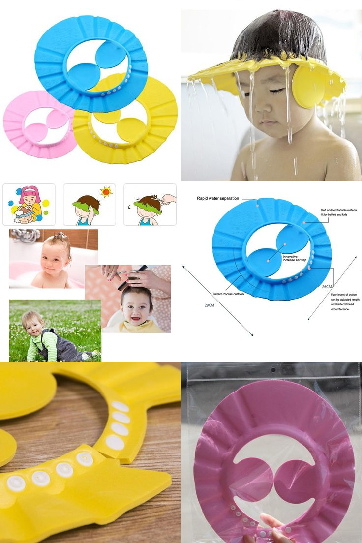 [Visit to Buy] Hot Bath Accessories Tools Waterproof Safe Shampoo Baby Shower Cap Bathing Soft Hat For Children Kids Gorro de ducha Tonsee #Advertisement