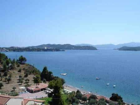 Mandaniki Skiathos Island greece, 150m from the beach.