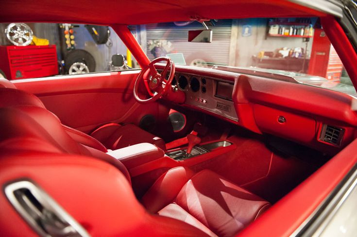 1970 Chevelle Becausess Grey Red Interior Ivy Sandman
