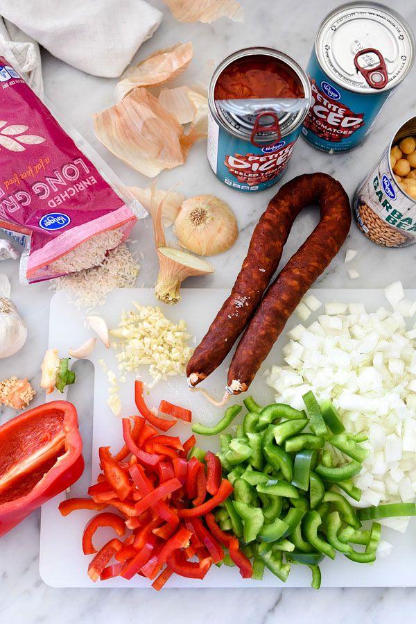 Spanish Chicken and Rice | foodiecrush.com