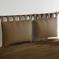 pillow headboard :) yum