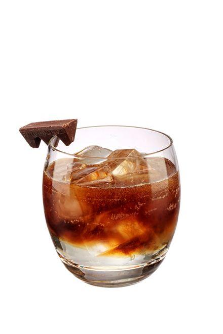 to make a mocha martini use bourbon whiskey, espresso coffee (freshly made & hot), baileys irish cream liqueur , gabriel boudier dark creme de cacao, single cream