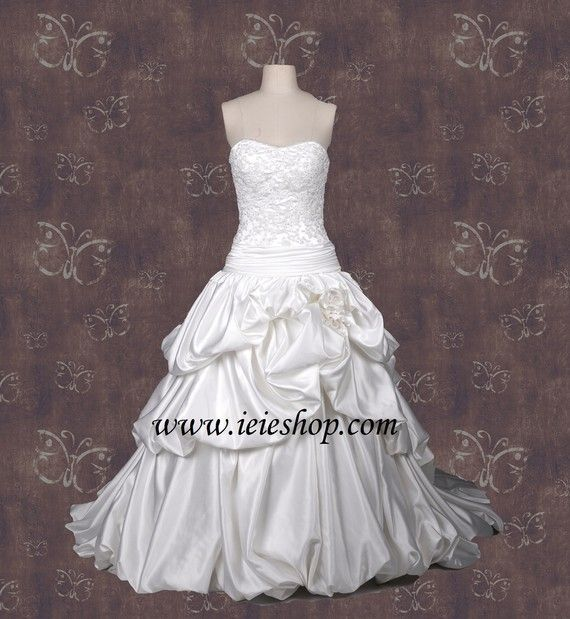 Sottero Inspired Ball Gown Wedding Gown with French by ieie, $449.99