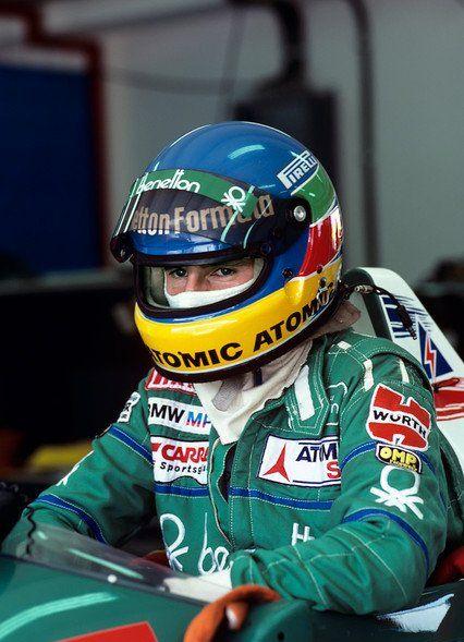 F1 Pictures, Gerhard Berger 1986