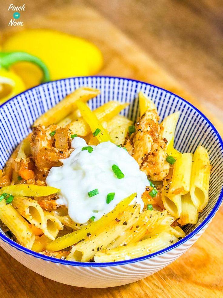 Syn Free Chicken Fajita Pasta | Slimming World