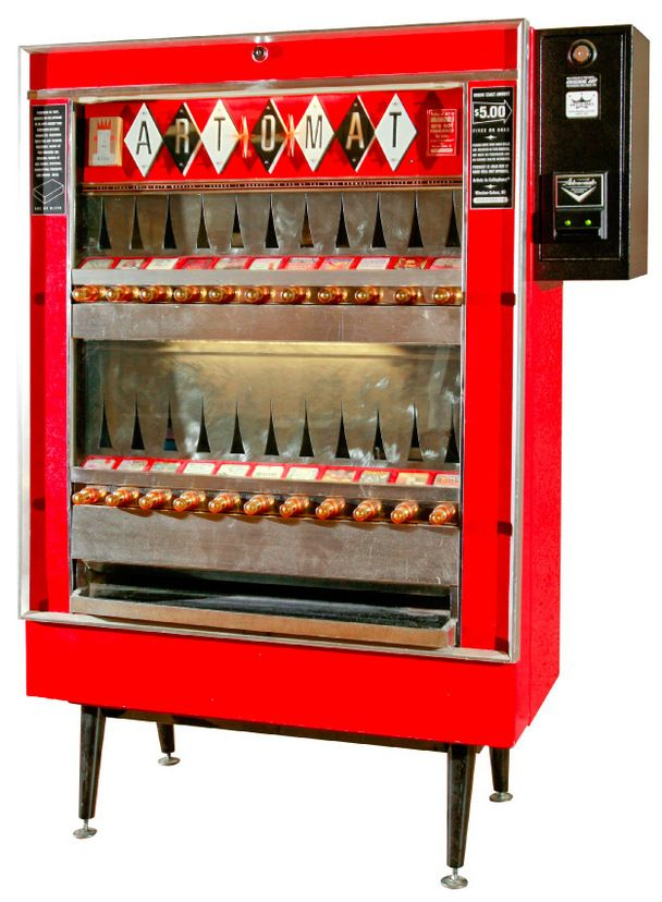 antique coffee vending machine