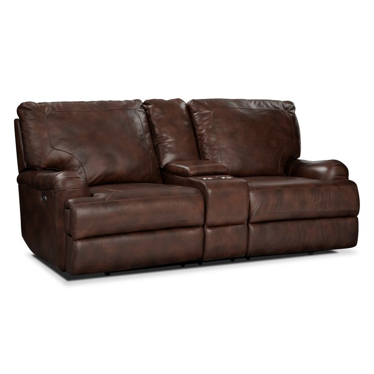 Sofa Tables Living Room Furniture Kingsway Power Reclining Loveseat with Console