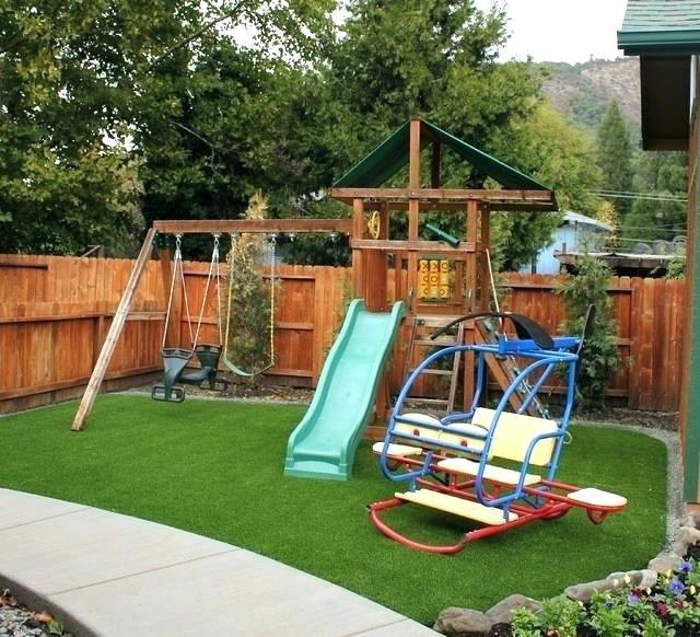 53 Creative Backyard Playground Landscaping Ideas Playground