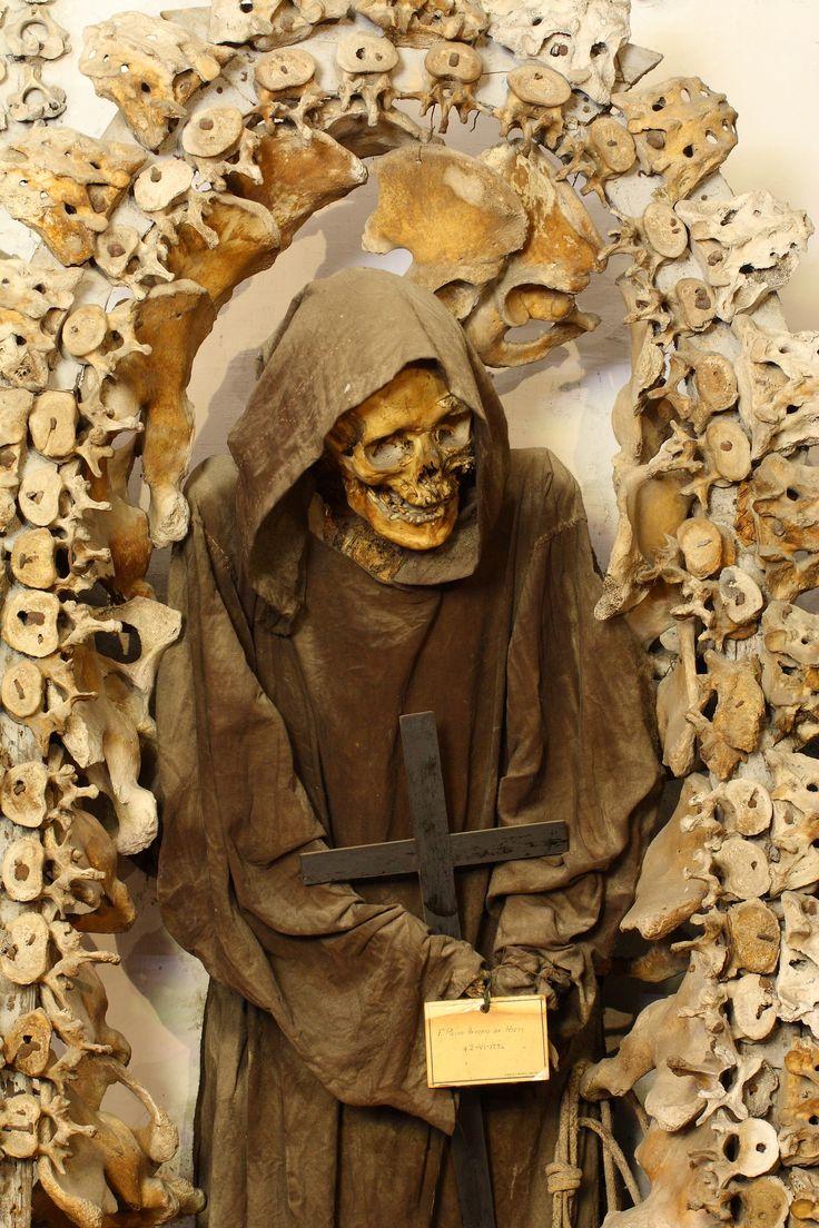 crypt of the monastery of santa maria della concezione in
