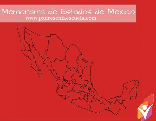 Memorama de estados y capitales de México