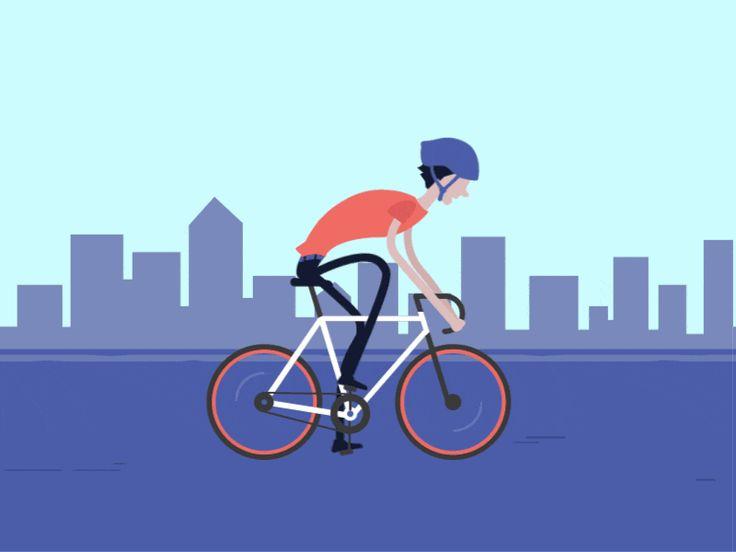 Biking no matter the season