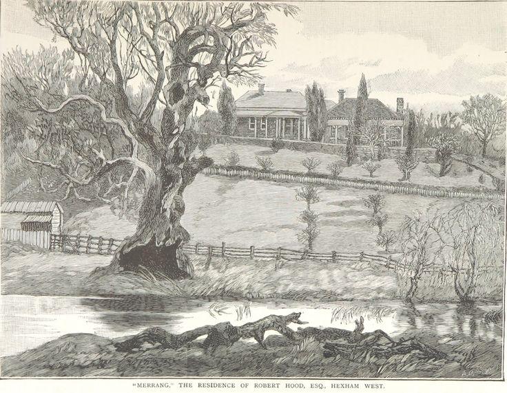 """""""Merrang"""" The Residence of Robert Hood, Esq., Hexham West"""