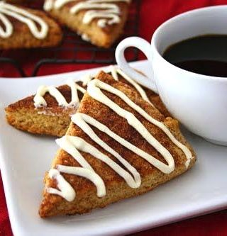 Cinnamon Roll Scones (Low Carb and Gluten Free)