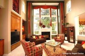 Window treatments make the room, without blocking the view