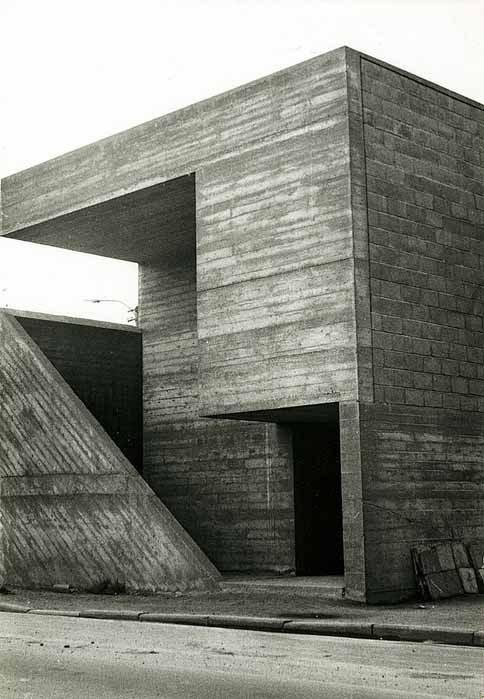ROLU, rosenlof/lucas, ro/lu (studio blog) - News > the minimalist concrete architecture with an honest use of materials, a constructive and logical Austerity without folklore. Against these realities to reject he places another practice that transcends miserable and creates a whole new universe full of id