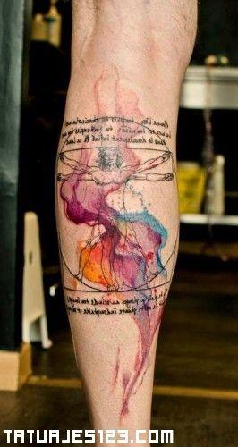 El hombre de vitruvio es uno de los dibujos realizados por el artista Leonardo Da Vinci, el cuya va acompañado de notas anatómicas. Este dibujo esta destinado a estudiar las proporciones anatómicas del ser humano.