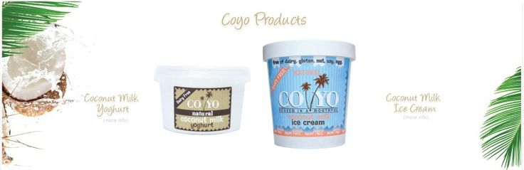 Coconut milk yoghurt and ice cream - For those of you looking for that alternative to dairy and soy yoghurt... Here it is! Not cheap though..  Note: It contains tapioca, pectin for binding & Xylitol (sugar alcohol - as sweet a sucrose but 33% fewer calories and without negative side-effects) for sweetening