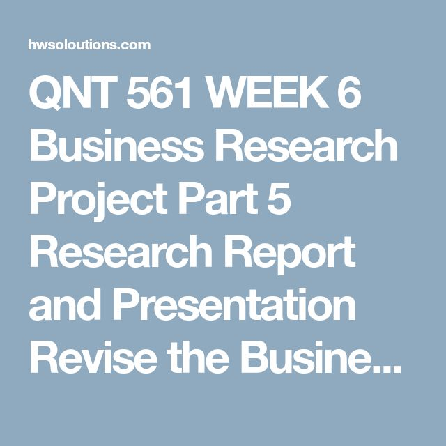 qnt 561 week 6 a decision of uncertainty Qnt 561 week 3 a decision of uncertainty paper week 3 dq 1: â in your organizationâs â week 4 assignment: qnt 561 week 4 business research methods, part ii barnes & noble qnt 561 week 6 practice problems â chapter 10 and 11 â week 6 ch 10 of statistics for business and.