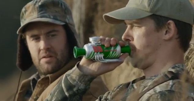 Mountain Dew Duck Call Super Bowl Commercial Spotlights Duck Hunting [VIDEO]