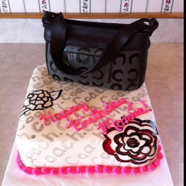 Cool Coach purse cake