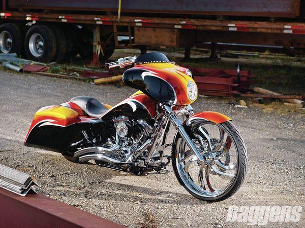 Joe Pemberton's custom Street Glide