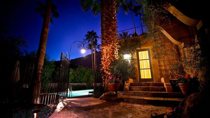The Palm Springs Gay and Lesbian Film Festival Hotels The Willows Historic Palm Springs Inn
