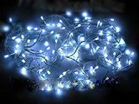 Гирлянда DURAWISE 192 холодных белых LED-огней, 14,3м контроллер, прозрачный провод, батарейка, уличная, KAEMINGK