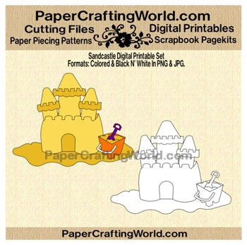 Sand Castle Digital Printable. Pre-Colored and Black n' White included in download. Direct Link: http://www.papercraftingworld.com/item_875/Sandcastle-DS.htmBlack N White, Sands Castles, Sand Castles, Direction Link, Castles Digital, Digital Stamps, Digital Printables, Scrap Sketches, Sandcastle Ds