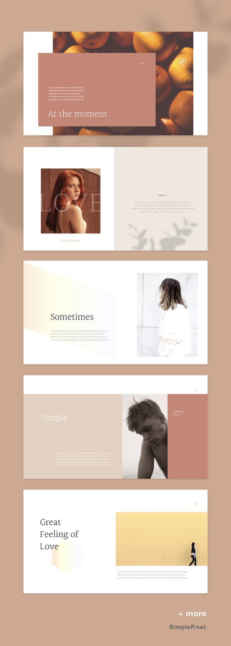PPT PowerPoint Presentation Template #glory #fall … – #Fall #Glory #portfolio