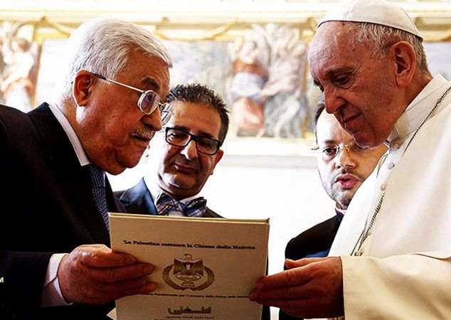 Pope Francis Authorizes Palestinian Embassy At The Vatican As He Threatens Trump On Jerusalem Move