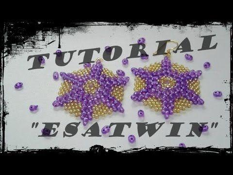 In questo video, vi mostro il tutorial degli orecchini EsaTwin (RINGRAZIO DANIELA PER IL NOME). Onestamente, non so se questi orecchini siano già stati reali...