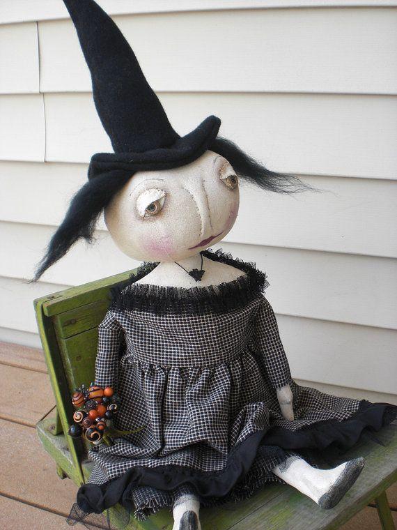 "Primitive Witch Doll ""Battina"""