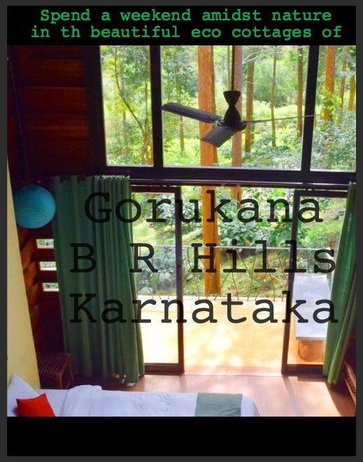 Gorukana, BR Hills, Karnataka, India   Eco tourism   Eco Resort   Volunteer tourism   Wildlife   Beautiful setting amidst nature