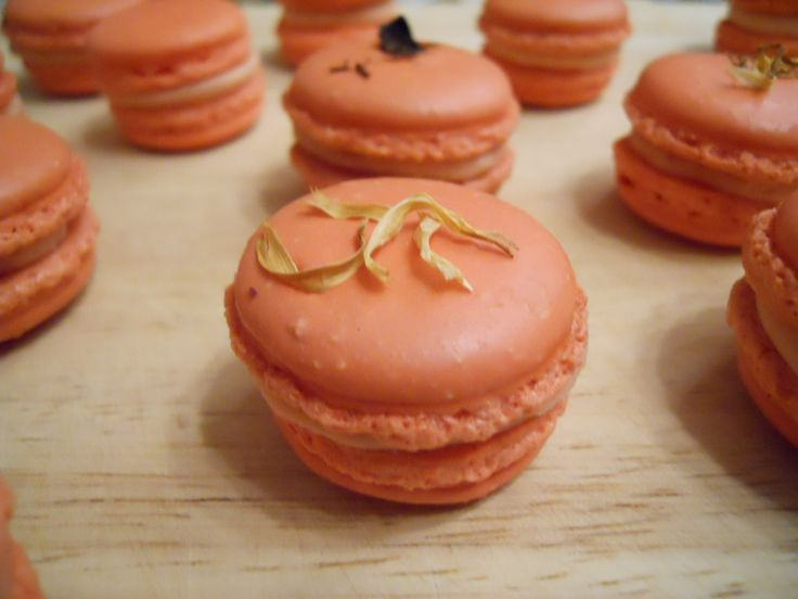 macaron au thé rooïbos