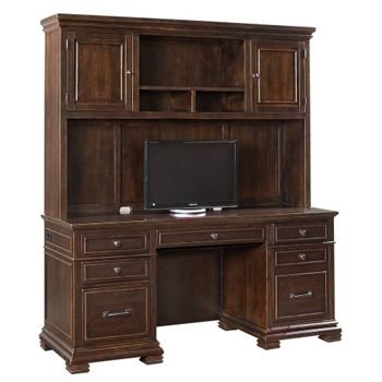 modern office credenza. Double Pedestal Credenza With Hutch Modernoffice National Business Furniture Modern Office