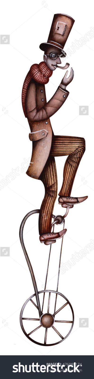 Circus Actor by Eugene Ivanov #cirque #circus #clown #clownery #illustration #eugeneivanov #@eugene_1_ivanov