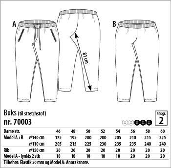 Buks – 70003 - Stof & Stil