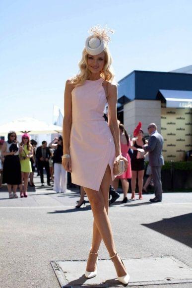 Street style: Melbourne Cup 2013 - Vogue Australia