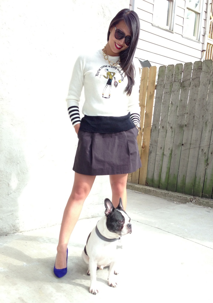vintage virginia slims sweater / etienne aligner chunky gold chain - want it? email us at thehuntshopscoop@gmail.com