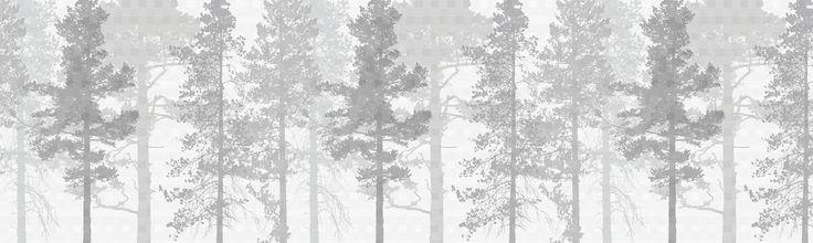 Weaving Wood Grey - Fototapeter & Tapeter - Photowall