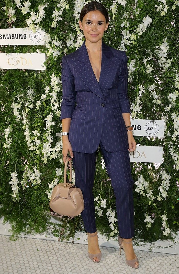 The Trouser Suit Styling Trick: How to Not Look Corporate in Tailoring via @WhoWhatWearUK